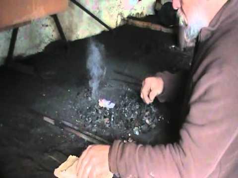Lecciones de forja 8 - Encendido de la Fragua