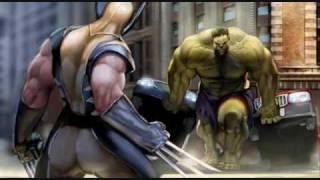 Nonton Wolverine VS Hulk AMV Film Subtitle Indonesia Streaming Movie Download