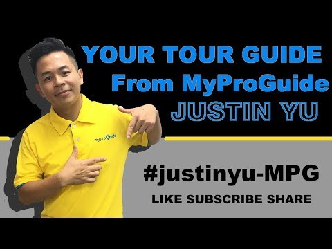 Justin show you the best Taipei.-Dive into My Hometown - Tour guide creative video vote