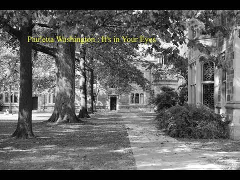 Pauletta Washington : Philadelphia  -  It's in Your Eyes