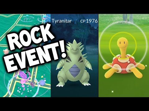 ALL YOU NEED TO KNOW ABOUT THE ROCK EVENT IN POKEMON GO! ★ (POKEMON GO ROCK EVENT)