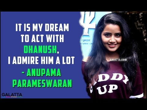 It-is-my-dream-to-act-with-Dhanush-I-admire-him-a-lot--Anupama-Parameswaran