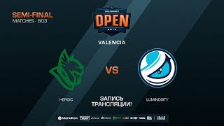 Heroic vs Luminosity - DreamHack Open Valencia 2018 - map2 - de_mirage [CM, Anishared]