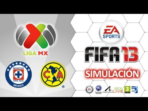 Cruz Azul vs América - Final Liga MX - FIFA 13
