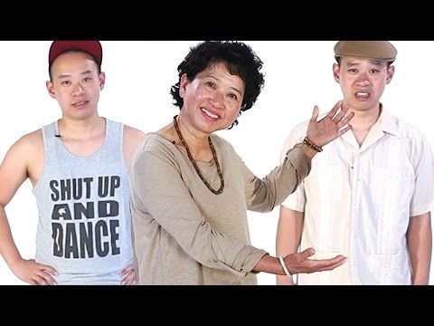 Asian Moms Dress Their Adult Children