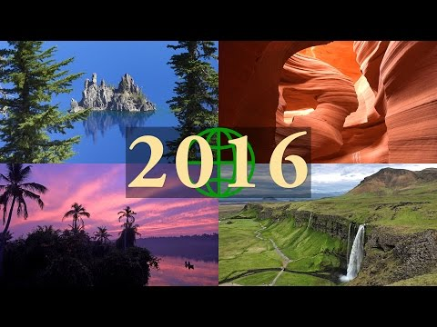 2016 Rewind: Amazing Places On Our Planet In 4K Ultra HD (2016 In Review)