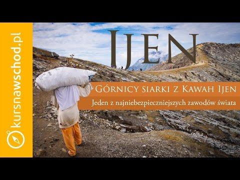 Ijen – Górnicy siarki z Kawah Ijen
