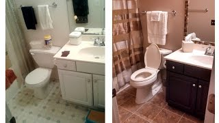 Small Bathroom Renovation DIY
