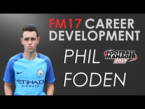 FM17 EXPERIMENT | PHIL FODEN | EP#1 | FOOTBALL MANAGER 17 CAREER DEVELOPMENT