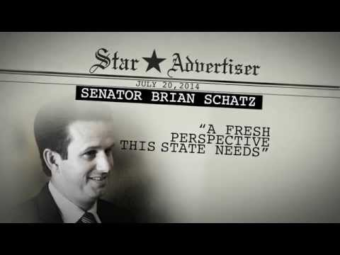 "Ad - The League of Conservation Voters (LCV) launched a television ad campaign on July 25, 2014 supporting Senator Brian Schatz ahead of the Democratic primary August 9th. The first ad, ""Special,""..."