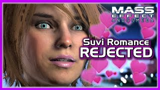 Mass Effect Andromeda Cutscenes - Suvi Anwar Romance Rejected (Male Ryder) ➲ Learn more about Mass Effect: Andromeda: http://masseffect.com ► Follow me on: T...
