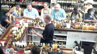 See a Hot Sauce Tasting Performed by Pete…