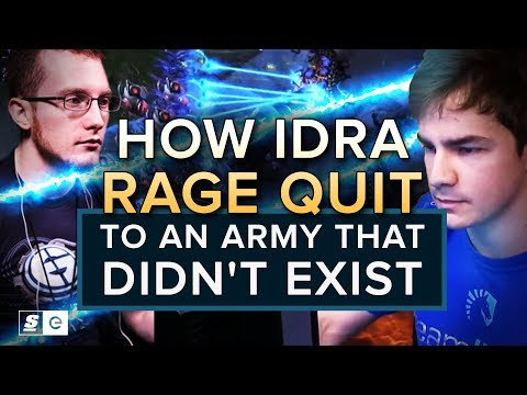 How IdrA Rage Quit to an Army That Didn't Exist