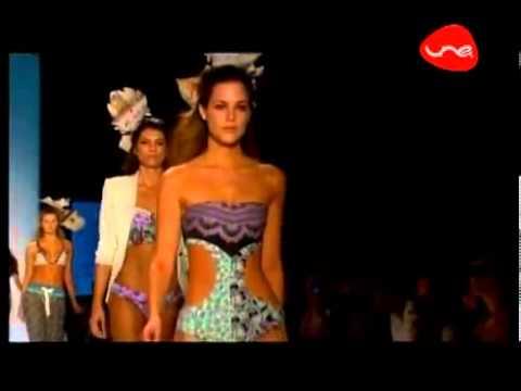 Подиумный показ коллекции купальников 2013 бренда Maaji