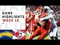 Chargers vs. Chiefs Week 15 Highlights | NFL 2018