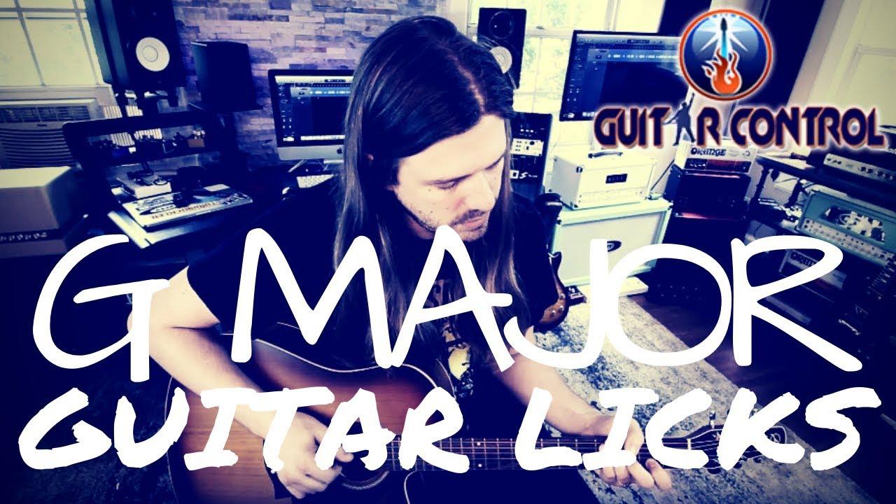 Acoustic Guitar Lesson On 5 Killer G Major Licks