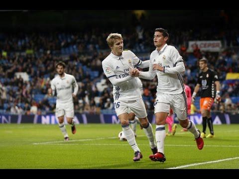 Real Madrid Vs Cultural Leonesa 6-1 / All Goals & Highlights Copa Del Rey 30-11- 2016