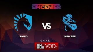 Liquid vs NewBee, game 1