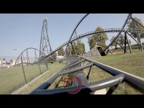Energylandia Hyperion POV 4K Mounted and Drone (видео)