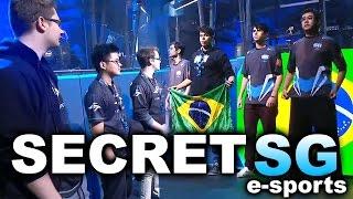 Commentary by LD Purge https://www.twitch.tv/dotamajor DOTA 2 SECRET vs SG e-sports (Brazil) - MOST AMAZING SERIES!