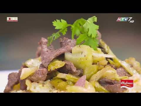 Cách chế biến món Cơm rang  dưa bò theo công thức của đầu bếp Vũ Dino | Khi Chàng Vào Bếp - Mùa 2 - Thời lượng: 98 giây.