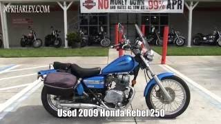 10. Used Honda Rebel 250 Motorcycles for sale in Tampa Florida