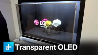 Exclusive look at LG's Transparent OLED and more at CES 2017