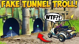 Download Video NEW FAKE TUNNEL TROLL! - Fortnite Funny Fails and WTF Moments! #266 (Daily Moments) MP3 3GP MP4