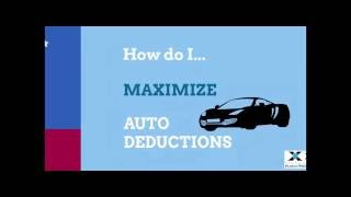 How to maximize auto deductions?