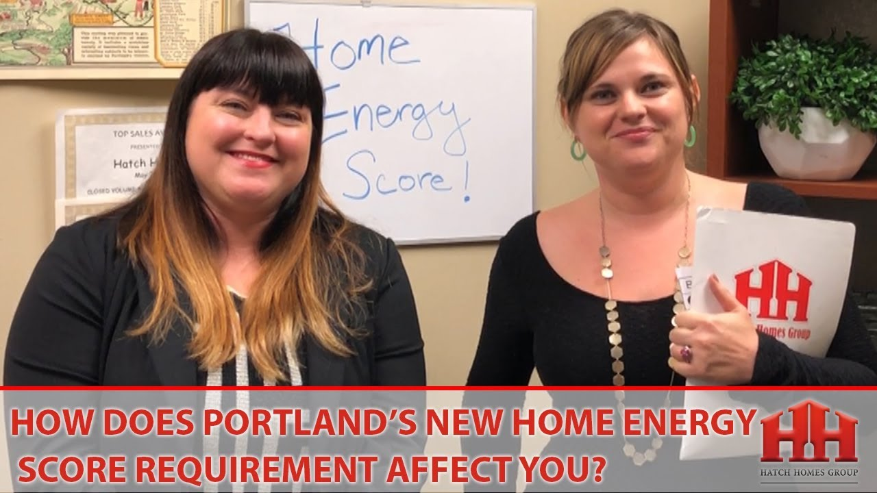How Does Portland's New Home Energy Score Requirement Affect You?
