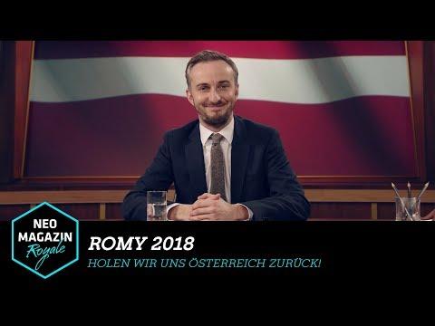 Romy 2018 - Holen wir uns Österreich zurück! | NEO MAGAZIN ROYALE mit Jan Böhmermann - ZDFneo