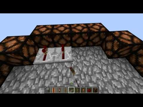 Redstone lamp - Time for an update to the original design. A more hands on approach for constructing the lighting module for a revolving lighthouse using redstone lamps. ---...