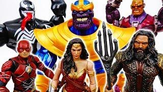 Video Thanos With Infinity Gauntlet Is Unstoppable~! Go Wonder Woman Aquaman Flash - ToyMart TV MP3, 3GP, MP4, WEBM, AVI, FLV Juli 2018