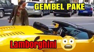 Video 🔥PRANK GEMBEL NAIK LAMBORGHINI MP3, 3GP, MP4, WEBM, AVI, FLV April 2019