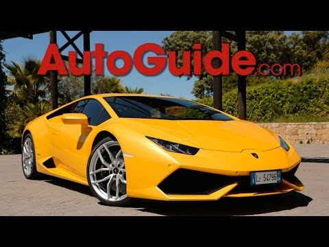 2015 Lamborghini Huraca?n LP 610-4 First Drive