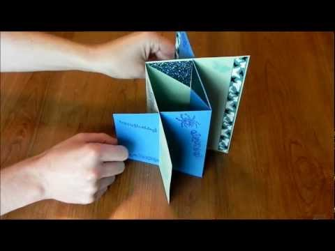 How to Make Cards: Cascade Card:  We show you how to easily make a cascade card. Be sure to check out our other card videos