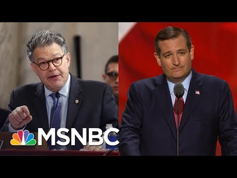 What Al Franken Said To Ted Cruz That Left Him Speechless | All In | MSNBC