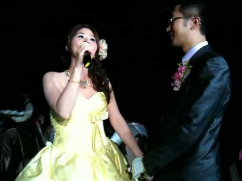 超酷婚禮!唱歌超好聽的新娘!