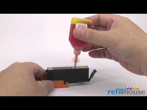 cli - Introduction Drain conduit (Fill Needle) extends into the bottom of the ink cartridges, Vent conduit (Air Needle) extends into the Ink Level in the ink bottl...
