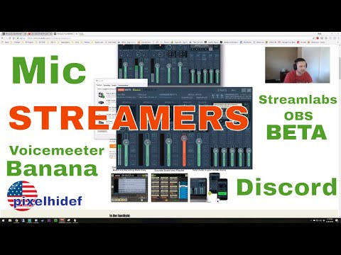 how to setup voicemeeter banana with discord