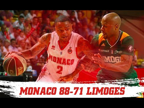 PLAYOFFS — Monaco 88-71 Limoges — 1/2 finale, match 1 — Highlights