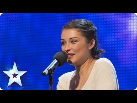 Alice Fredenham singing 'My Funny Valentine' – Week 1 Auditions | Britain's Got Talent 2013
