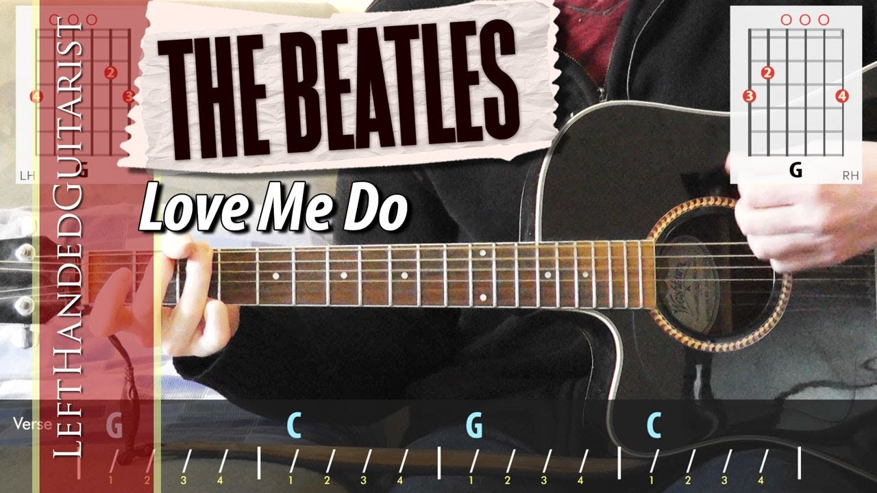 The Beatles – Love Me Do | guitar lesson
