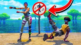 ALL *SECRET* BANNED DANCE LOCATIONS In Fortnite: Battle Royale