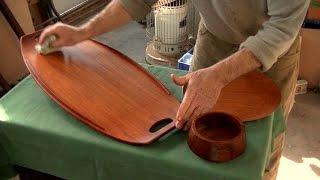 Restoring Midcentury Modern Teak Objects