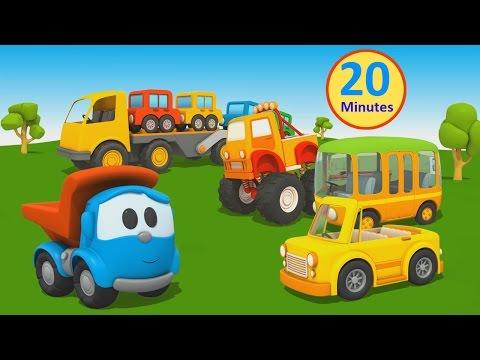 Cartoni Animati per bambini - Camioncino Leo: Macchine e macchinoni