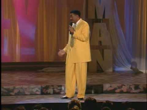 Steve Harvey - One Man Show- White and Black People Fired - Hilarious
