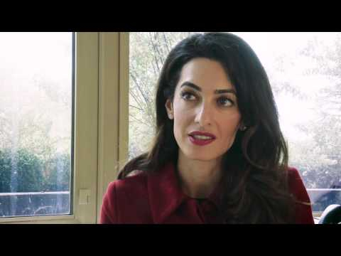 Amal Clooney Tells Amnesty International Why The Former President Of The Maldives Must Be Released.
