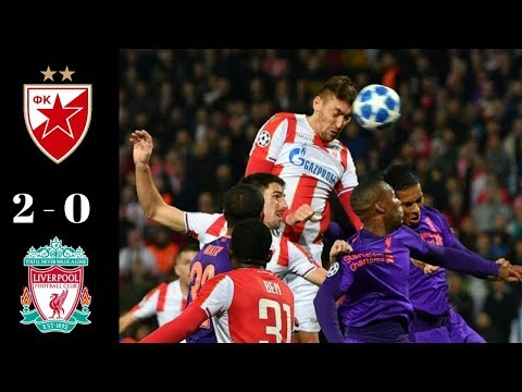 All Goals & Highlight UCL RED STAR VS LIVERPOOL 2 - 0 07/11/2018