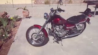 9. 2012 Honda Rebel 250 with 4 modifications